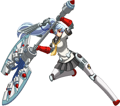 No higher resolution available Persona Labrys Sprite