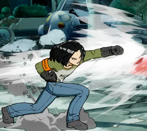 File:DBFZ Android17 TopGear png - Dustloop Wiki