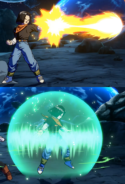 File:DBFZ Android18 SupportAttack4.png
