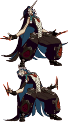 GGXRD-R Raven GiveItToMeHERE.png