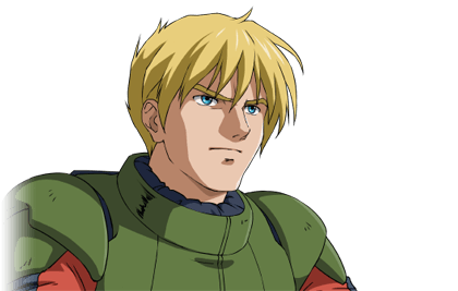 EXVSMBON Zaku II High Mobility Type Late Model (Johnny Ridden) Pilot Portrait.png